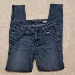 LEVEL 99 Mid Rise Janice Ultra Skinny Jeans sz 27